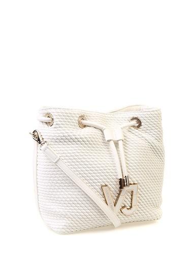 Versace Jeans Clutch / El Çantası Beyaz